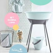 Con un set completo de Baño y accesorios para tu Bebé tendrás todo lo necesario para la higiene de tu pequeño y la comodidad de los papis. El de la firma Luma es ideal para decorar la habitación de nuestros peques. 😍  #LaNanitaFamily #Baby #TiendaOnline #TiendaBebés #OnlineShop